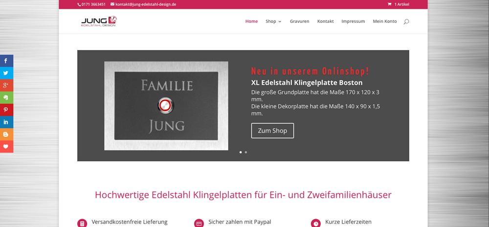 Jung-Edelstahl-Design